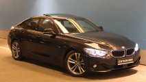 BMW 420d Gran Coupe Czarna 2014